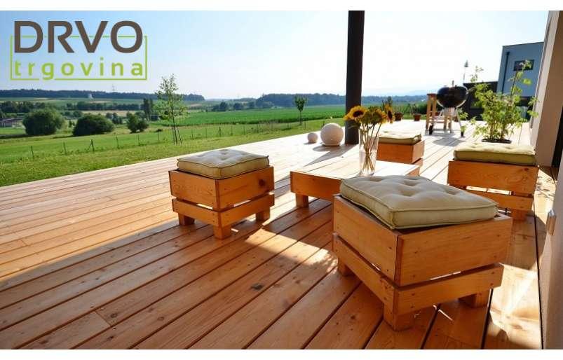 Drveni podovi za terase i eksterijer kao efektan dodatak svakom prostoru