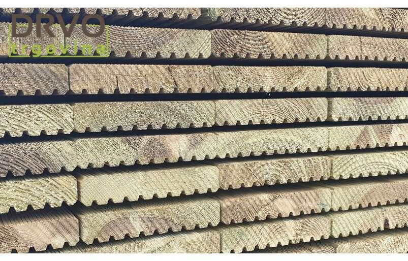Zašto podnice za terase imaju rebrastu površinu?