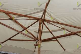 DRVENI SUNCOBRAN 300/300cm