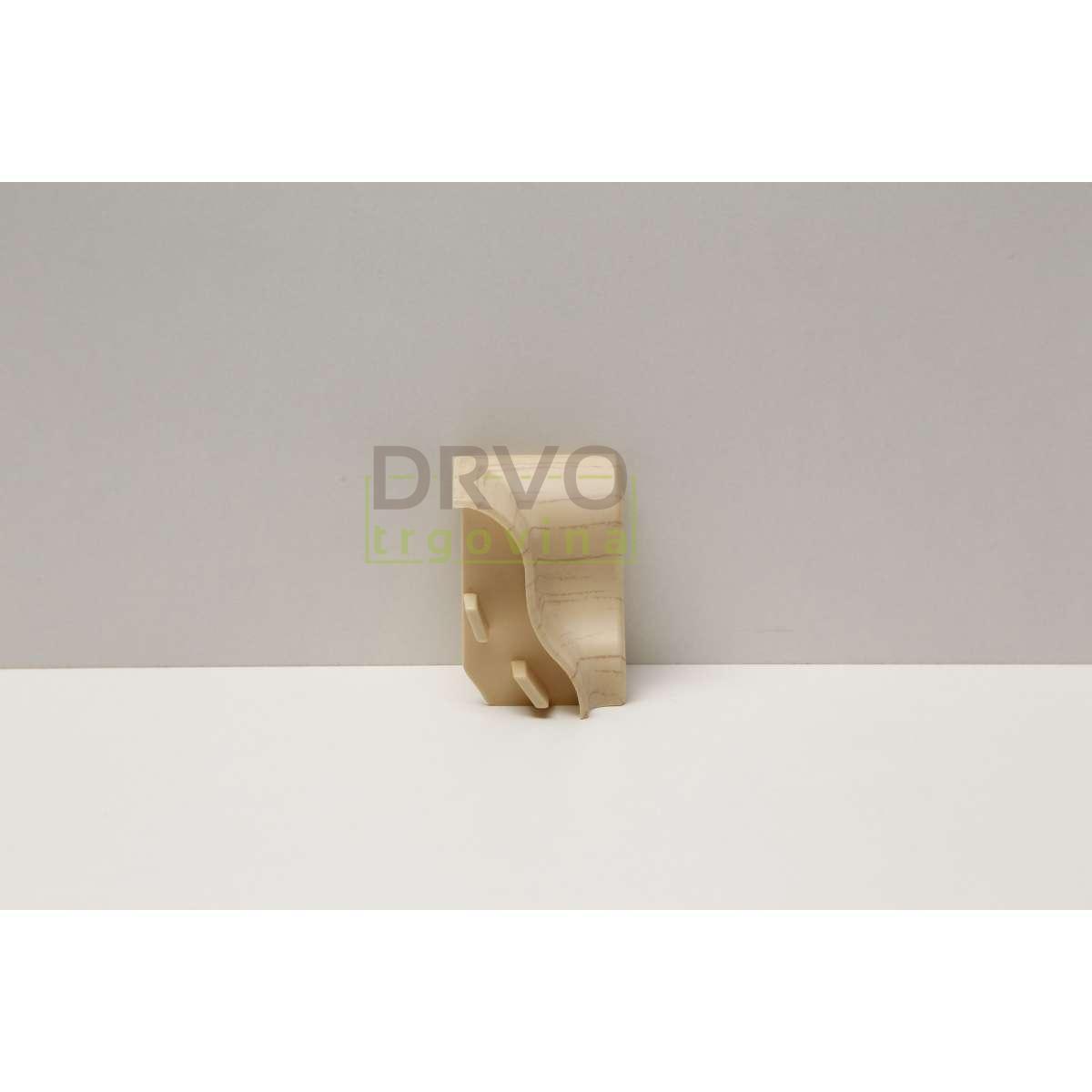 PVC KUT UNUTARNJI ZA LETVICU  P27 JAVOR(KLO-7)