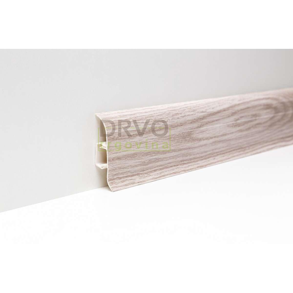 PVC LETVICA ZA LAMINAT P158 HRAST BELFAST 2,5m