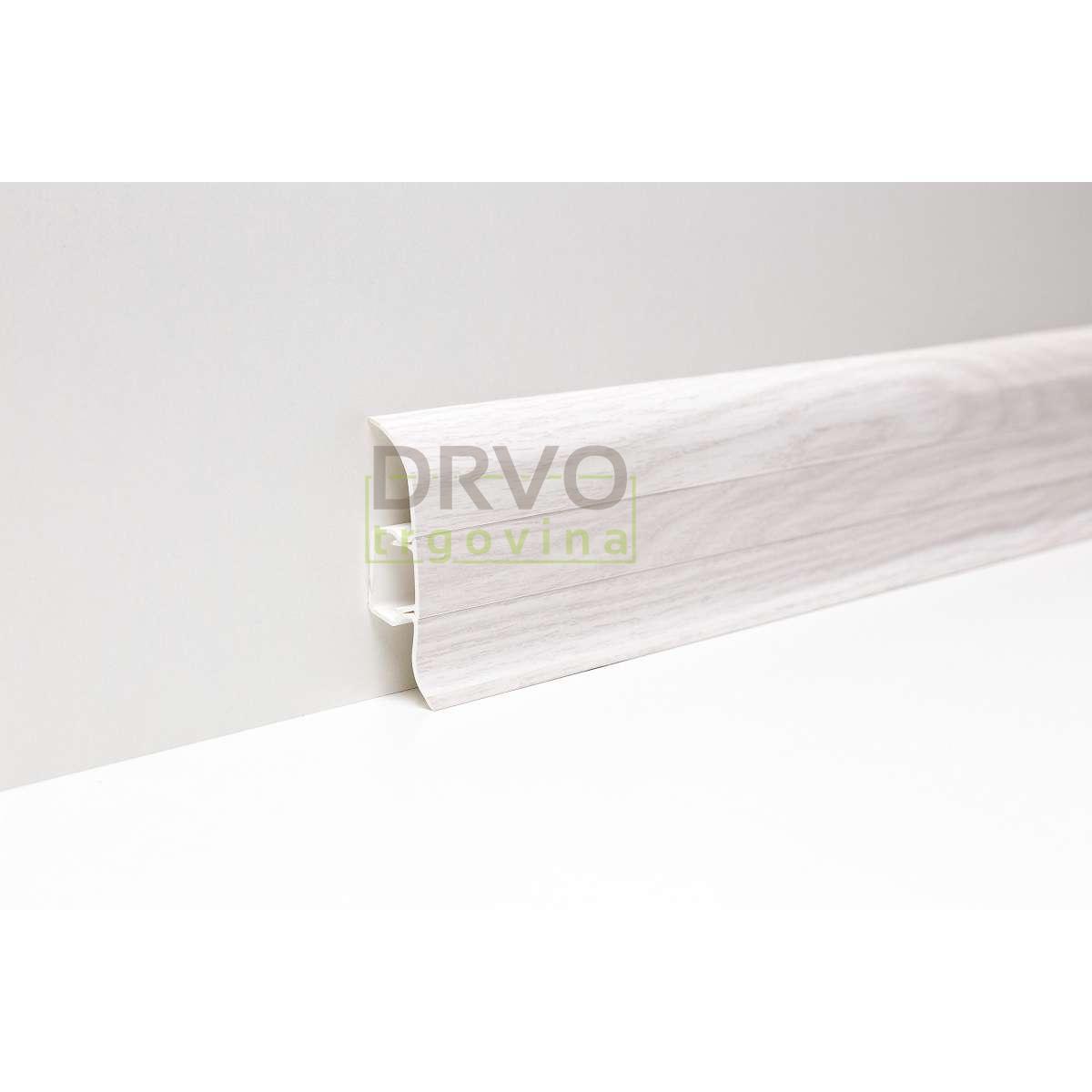 PVC LETVICA ZA LAMINAT P163 HRAST ASPEN/40128 2,5m