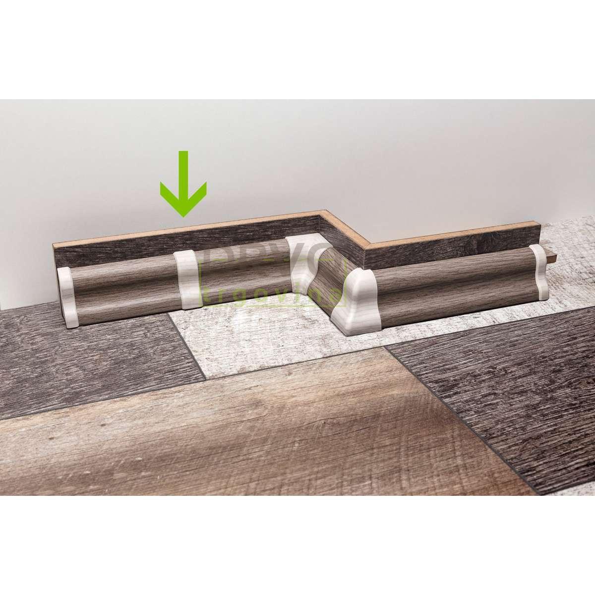 PVC SPOJ ZA LETVICE FOEI MERBAU / ORAH STMA80 708537