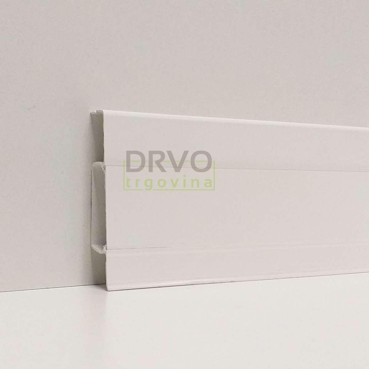 PVC LETVICA ZA LAMINAT HI LINE P089/40128/42/155 BIJELA16 2,5m