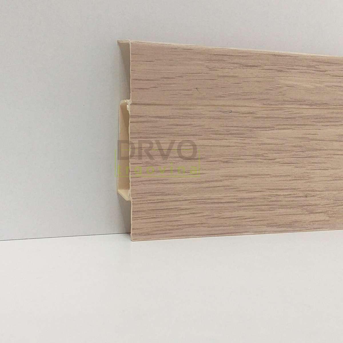 PVC LETVICA ZA LAMINAT HI LINE M175/40018/4547/2031 HRAST ALKANTA 2,5m