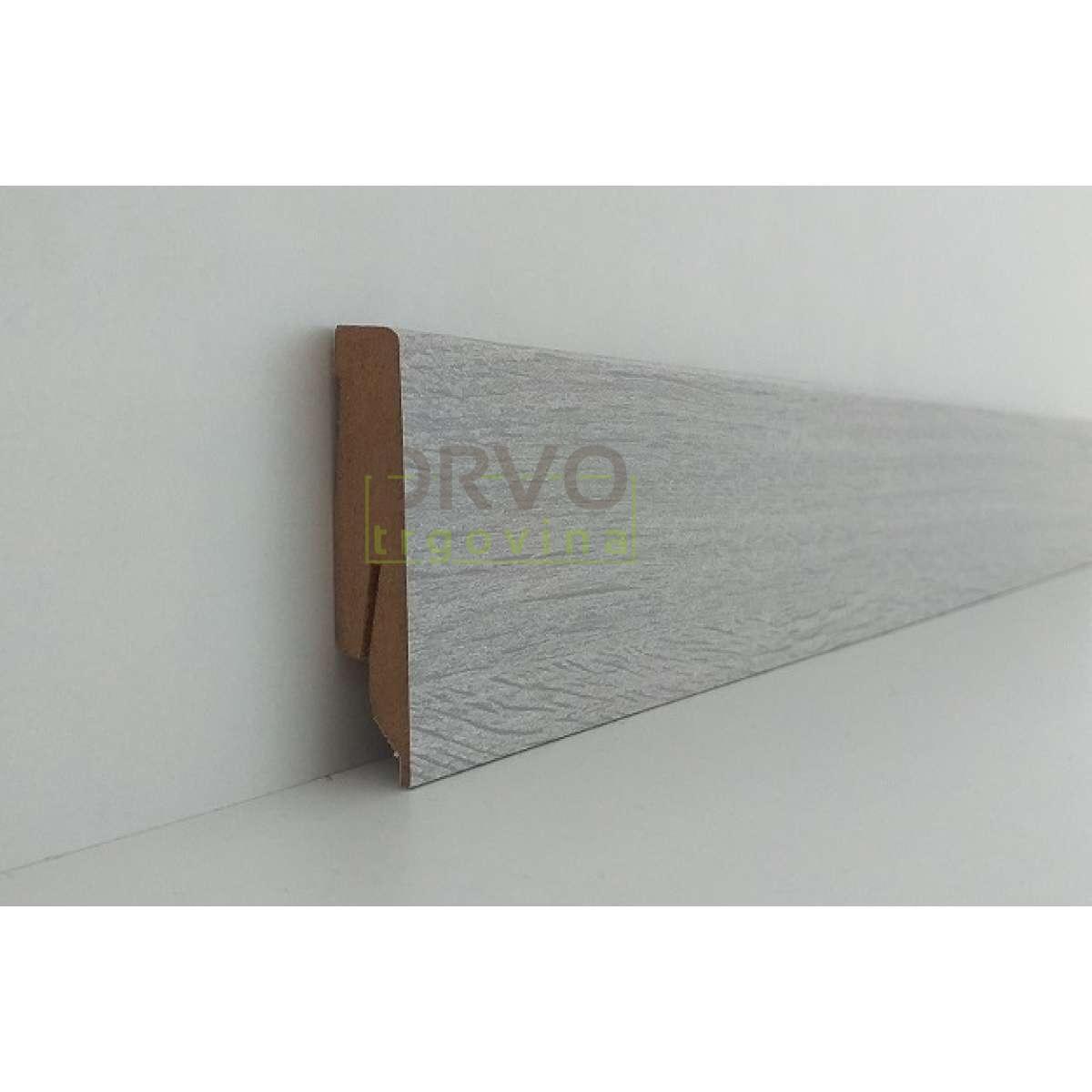 LETVICA ZA LAMINAT 60mm P71 B663 HRAST NORPOL 2,6m 8259/5543/K056/K277/5382/8461/K271/3753/K060/K223/5954/K039