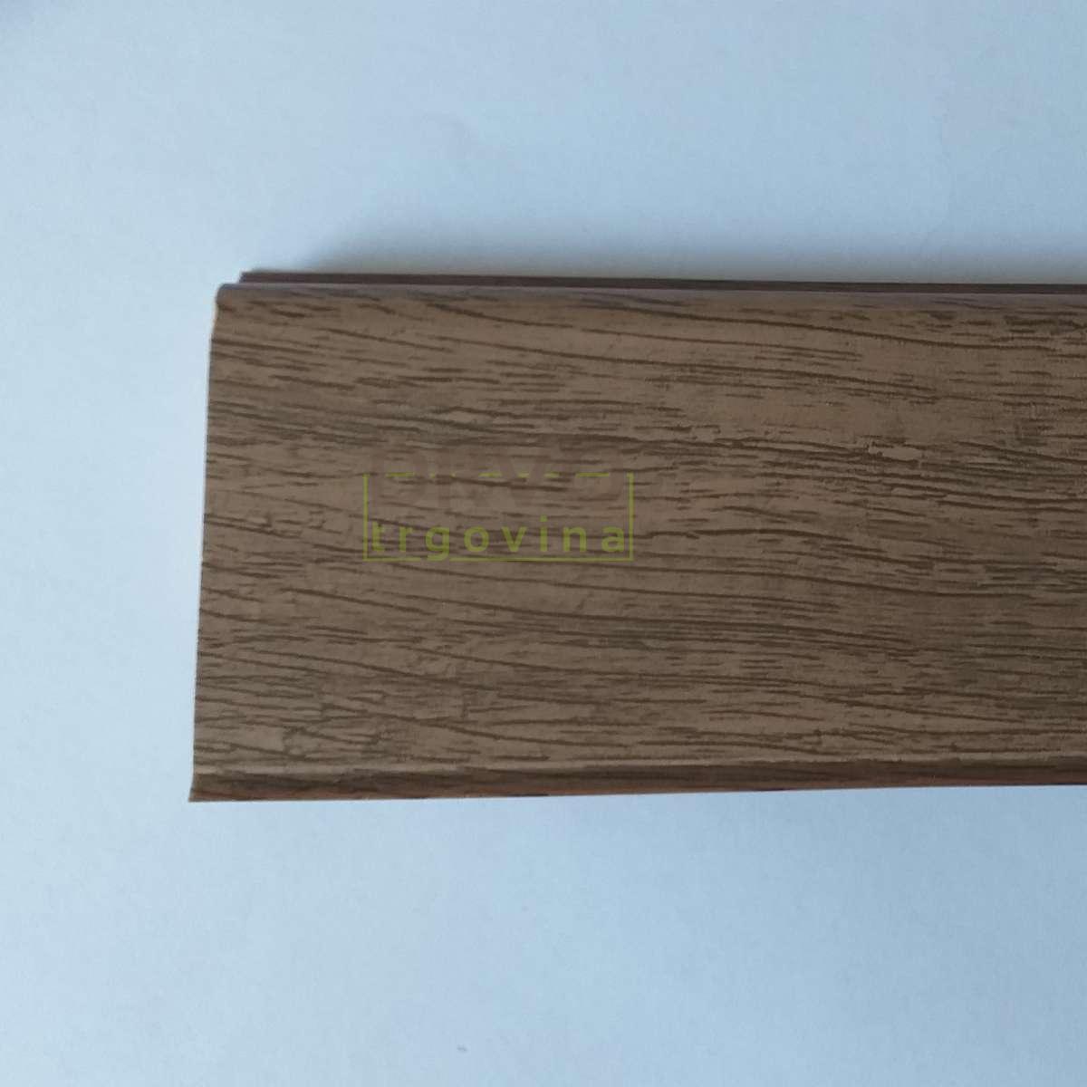 LETVICA ZA VINIL K0210L 59mm HRAST DAVOS EXKA001 R082/ 2,4m