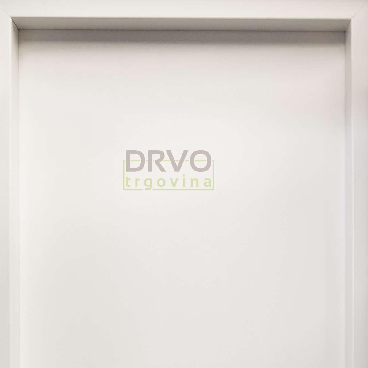 KOMPLET VRATA ENDURO S DOVRATNIKOM 10cm B134 bijela